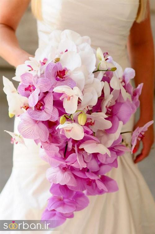 دسته گل عروس ارکیده4