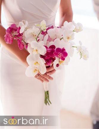 دسته گل عروس ارکیده5