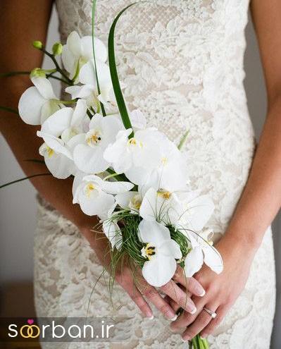 دسته گل عروس ارکیده9