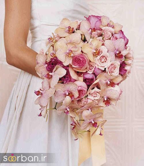 دسته گل عروس ارکیده20