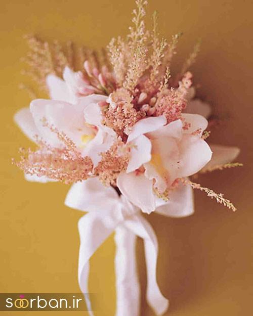 دسته گل عروس ارکیده21