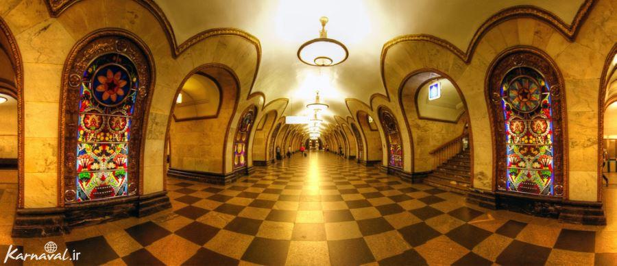 متروهای مسکو