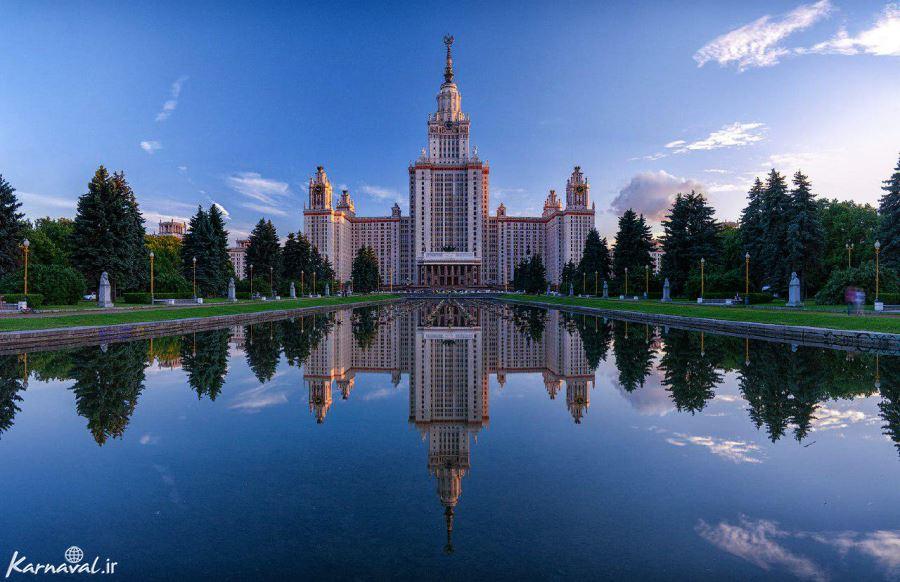 دانشگاهی در مسکو