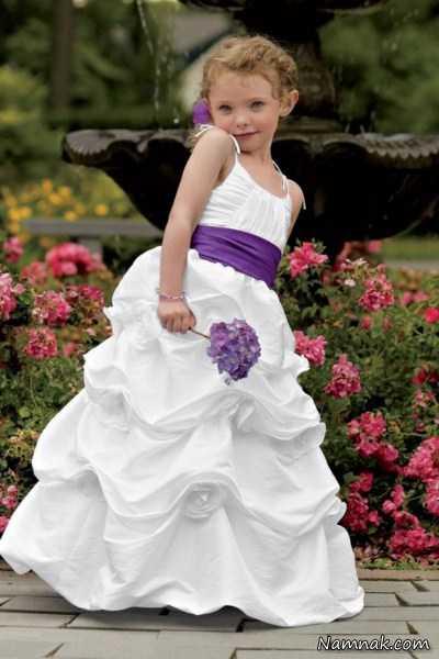 لباس عروس ساتن