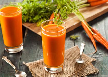خواص خوردن آب هویج ناشتا