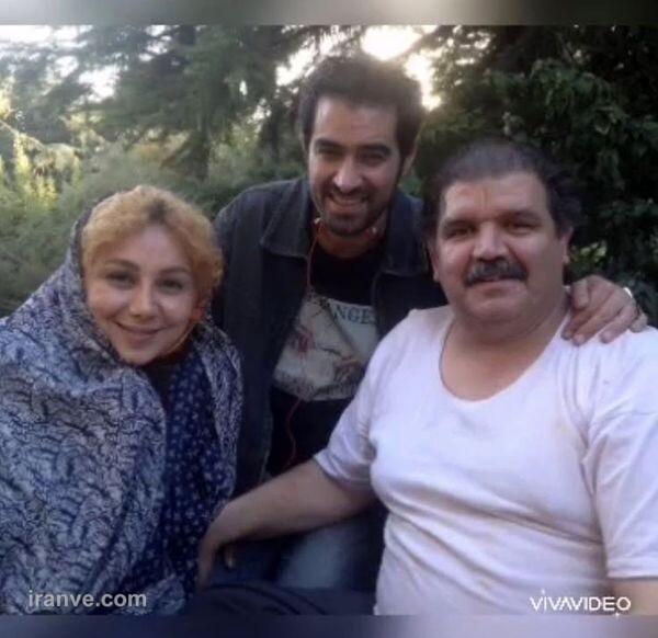بهنوش بختیاری در کنار شهاب حسینی و بازیگر معروف + عکس